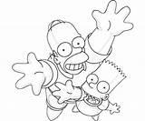 Simpsons Coloring Simpson Bart Homer Drawing Birthday Line Card Lisa Cartoon Cards Malen Coloringhome Library Ausmalbilder Malvorlagen Azcoloring Clipart Torten sketch template