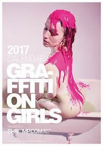 Shriiimp, 2017 Graffiti on Girls Calendar - Zen Garage