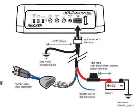 hideaway install power cable to battery question myg37