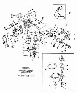 Mercury Marine 8 Hp Carburetor Assembly Wmc 1717b17c  1818a18b  20    20a    20b  23 Parts