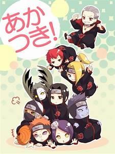 Akatsuki Tobi, Yahiko, Konan, Kakuzu, Zetsu, Itachi ...