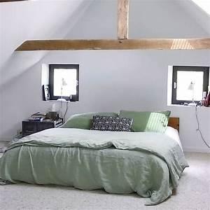 Chambre Simpliste Chambre Moderne Toit Cathdrale