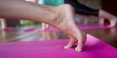Yoga Foot Feet Instructor Poses Pilates Heels