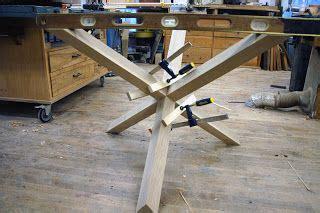 leg cross joint explained diy table legs wood