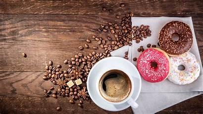 Coffee Donuts Cup Ciambella Grain Fondo Donut