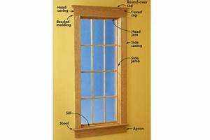 Build & install beautiful door and window trim WOOD Magazine