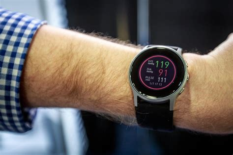 Omron unveils smartwatch with blood-pressure tracking at