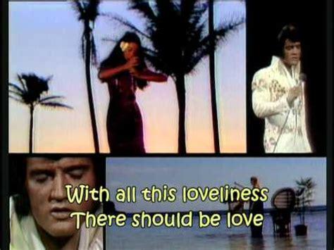 elvis presley blue hawaii  lyrics youtube