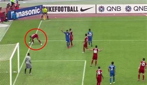 video referee awards controversial penalty  handball