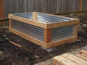 aristata land arts cedar metal raised bed project