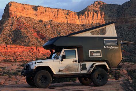 actioncamper turns   door jeep wrangler
