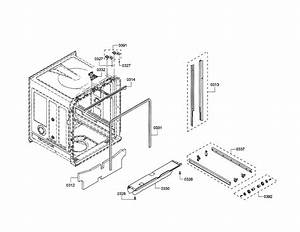 Thermador Model Dwhd440mfp  08 Dishwasher Genuine Parts