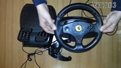 thrustmaster gt experience unboxing ita volante thrustmaster gt experience