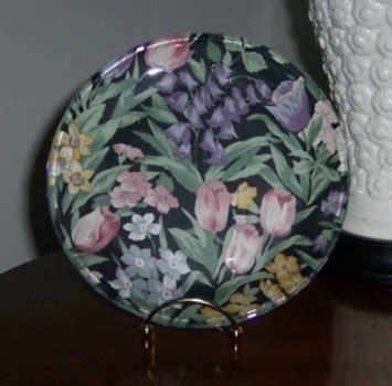 decorating glass plates thriftyfun