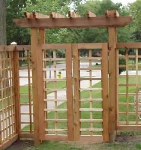 Pergola with Gate