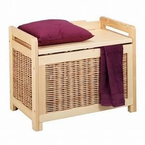 Panier A Linge Design : boite de rangement les paniers linge design ~ Teatrodelosmanantiales.com Idées de Décoration