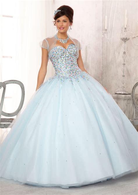 light blue 15 dresses light blue and white quinceanera dresses www imgkid com