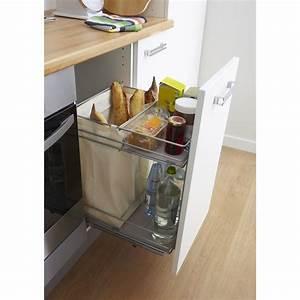 Meuble A Bouteille : rangement coulissant pain bouteilles pour meuble cm ~ Dallasstarsshop.com Idées de Décoration