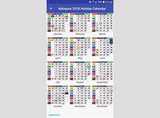 Kalendar 2018 malaysia 2018 Calendar printable for Free