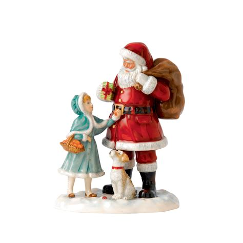 a gift for santa 2015 father christmas character figure