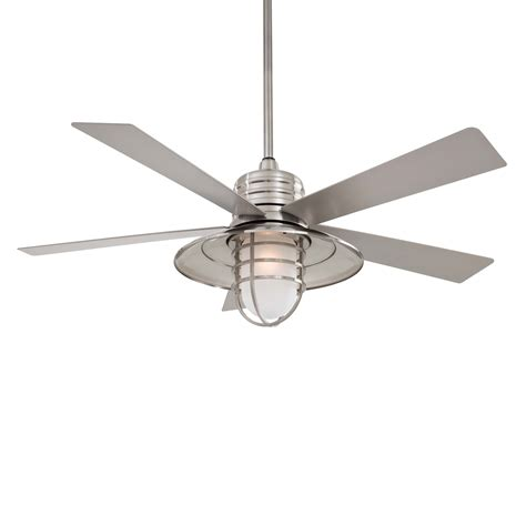 outdoor ceiling fans minka aire f582 54 in rainman indoor outdoor ceiling fan