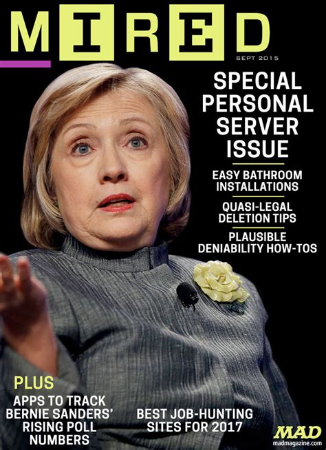 Hillary Clinton Cover by Mad Magazine Hillary Clinton S New Magazine Cover