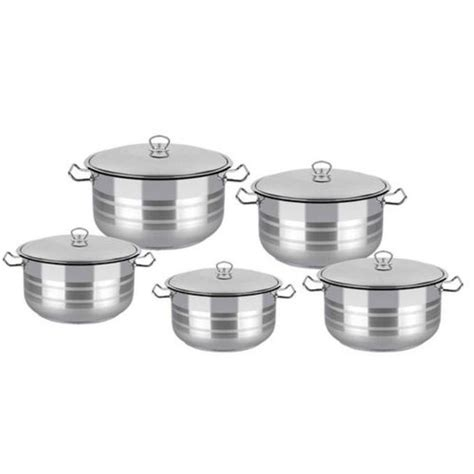 cookware pcs lines jumia stainless steel