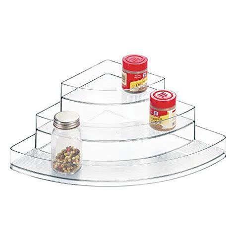 Linus Spice Rack by Interdesign Linus Spice Rack Corner Organizer For Kitchen