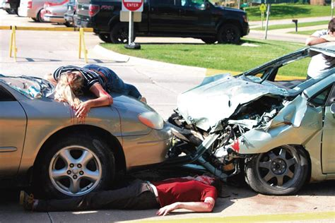 Mock Accident Aims To Depict Dangers Of Drunk Driving