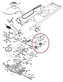 how do yo tighten the motion drive belt on craftsman lt2000