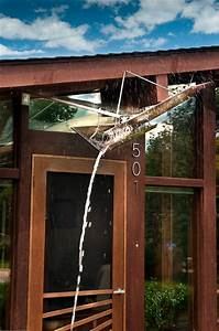 Art Glass Awning For Mid Century Modern Ranch House - Midcentury - Entry - Denver