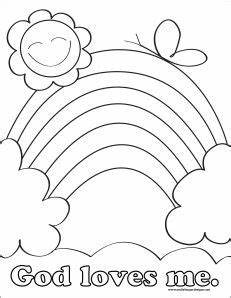 preschool bible coloring pages free - god loves me coloring pages printable preschool valentine
