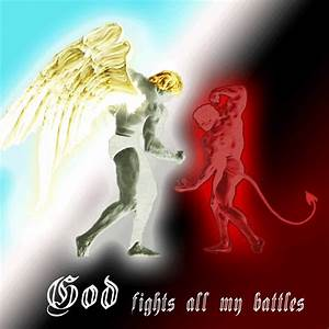 Top God Vs Satan The Final Battle Images for Pinterest Tattoos