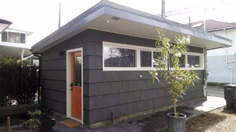 garages converted into homes garage converted into 250 sq ft tiny house now for sale