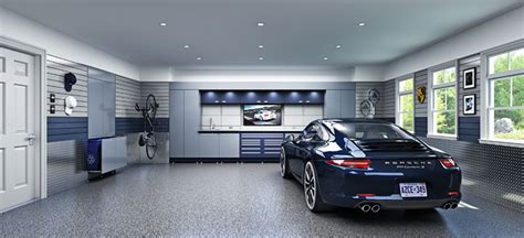 Photos And Inspiration Garage Designs by Garage Living And Pfaff Tuning Collaborate
