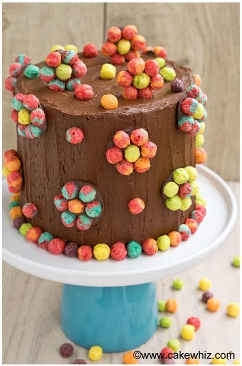 easy cake decorating ideas  beginners edible cereal