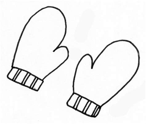 coloriage dune paire de gants tete  modeler