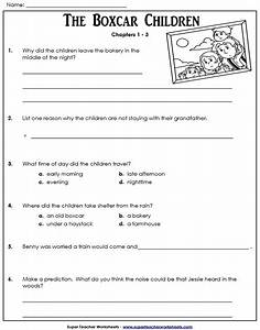 Comprehension Questions For Childrens Books