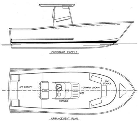 Sport Fishing Boat Blueprints by Tr Carolina Fishing Boat Plans