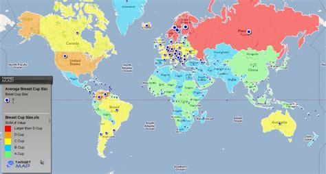 carte taille des seins dans le monde tuxboard