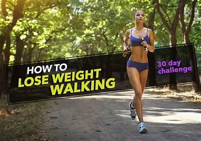 Walking Weight Lose Challenge Running Walk Loss