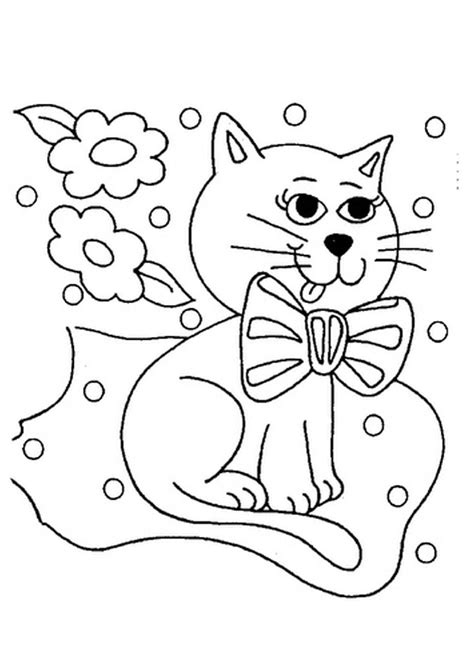Kleurplaat Poesje Mandela by Printable Animals Coloring Pages Sheets Coloring Pages