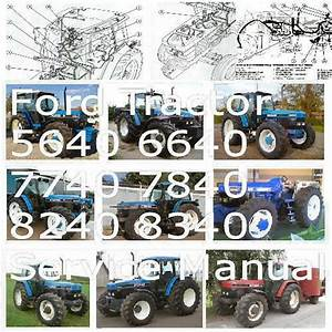 Details About Ford Tractor 5640 6640 7740 7840 8240 8340