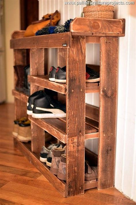 pin  jonathan rodriguez  saved diy shoe rack shoe rack wood pallets