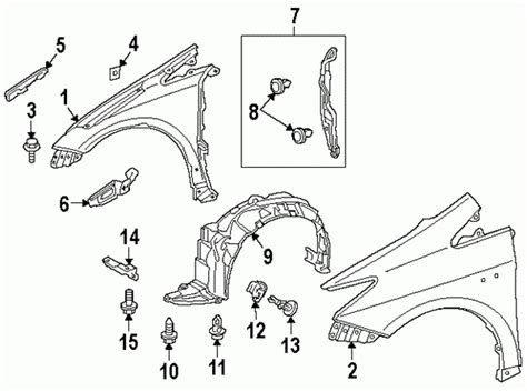 Honda Civic Engine Diagram Charts Free Images Auto