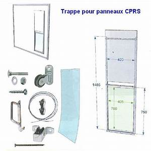 Trappe Pour Chat : trappe coulissante chenil pour panneau cprs chenils en ~ Dode.kayakingforconservation.com Idées de Décoration