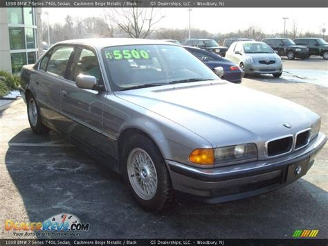 Bmw 740il 1998 by 1998 Bmw 7 Series 740il Sedan Beige Metallic