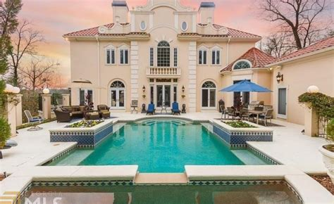 million mediterranean home  atlanta ga homes