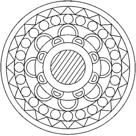 Coloriage Mandala En Ligne Gratuit à Imprimer
