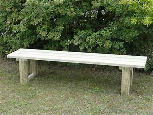 fabriquer un banc en bois exterieur mzaolcom With fabriquer un banc de jardin en bois